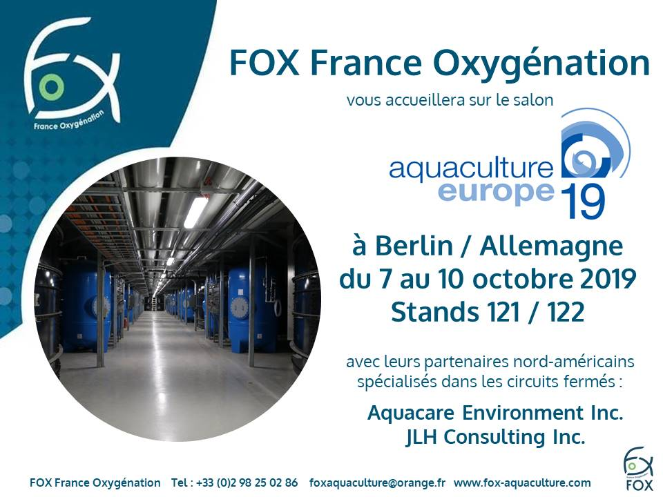 Exhibition Aquaculture Europe 2019 - Berlin