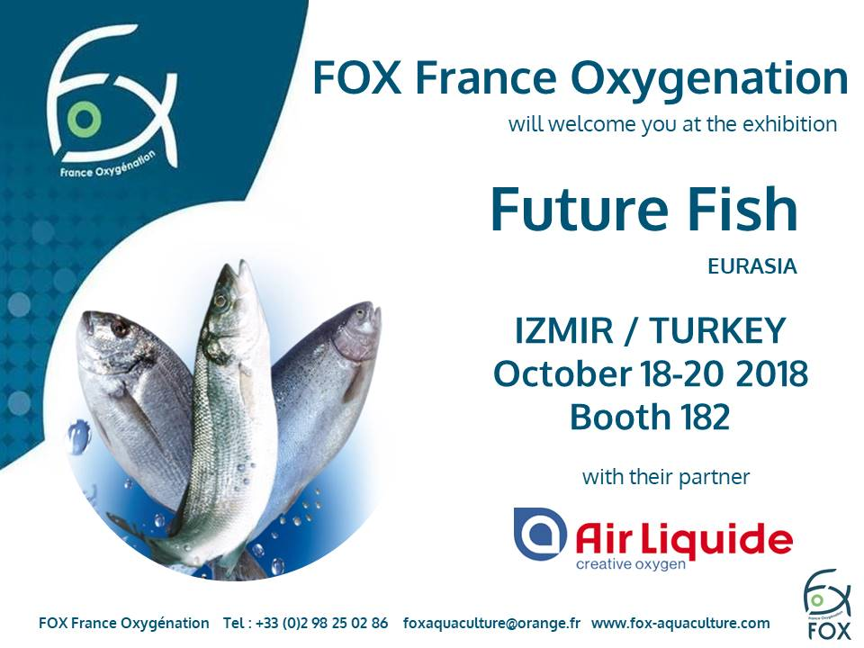 FOX at the exhibition Future Fish Eurasia 2018 in Izmir / Turkey